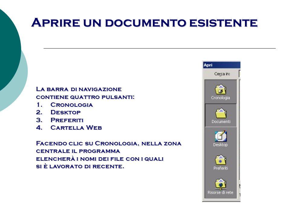 Guida in linea finestra di dialogo Nuovo, nella quale si può scegliere sia il documento vuoto, sia un altro documento tipo, da scegliere tra i modelli forniti con il programma.