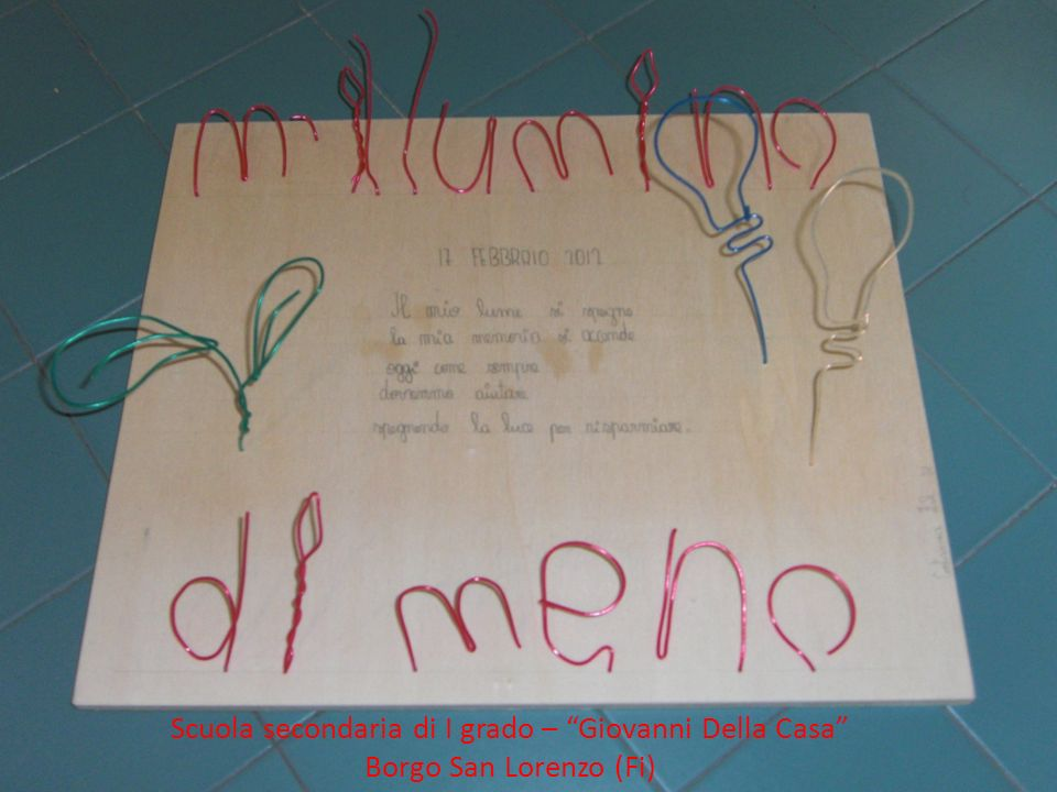 Scuola secondaria di I grado – Giovanni Della Casa Borgo San Lorenzo (Fi)