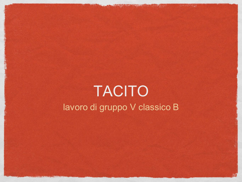 Dialogus de oratoribus Tacito Camilla Quartullo Gloria Valentini Beatrice Losavio Luigi Battistini Federico Minardi V Classico B