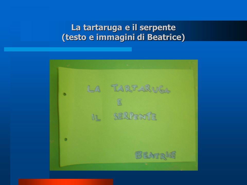 La tartaruga e il serpente (testo e immagini di Beatrice)