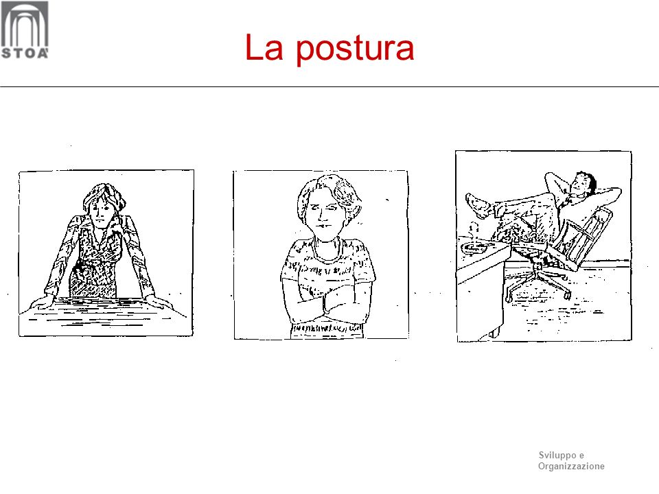 Sviluppo e Organizzazione La postura