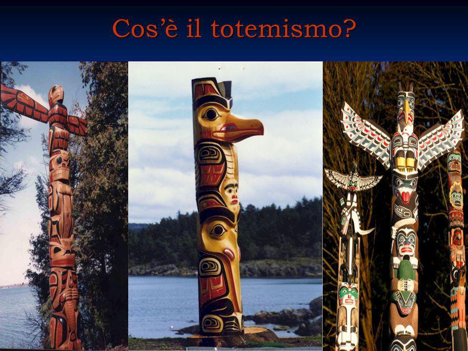 Cosè il totemismo?