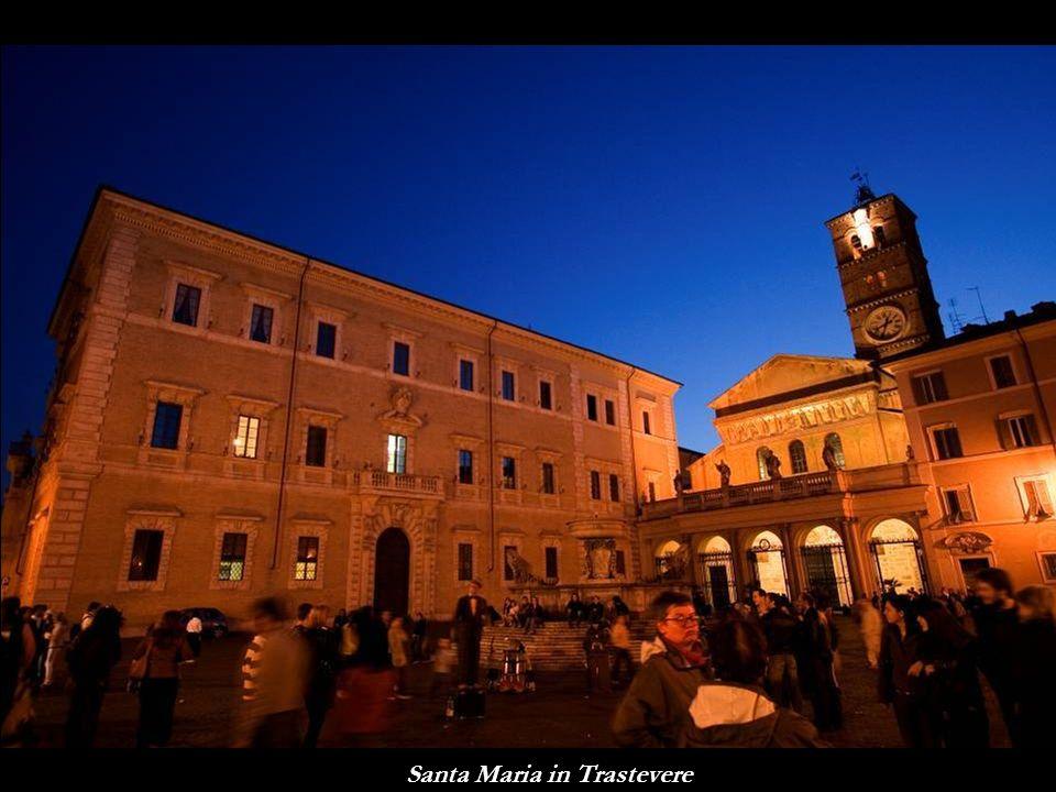 Il quartiere Trastevere