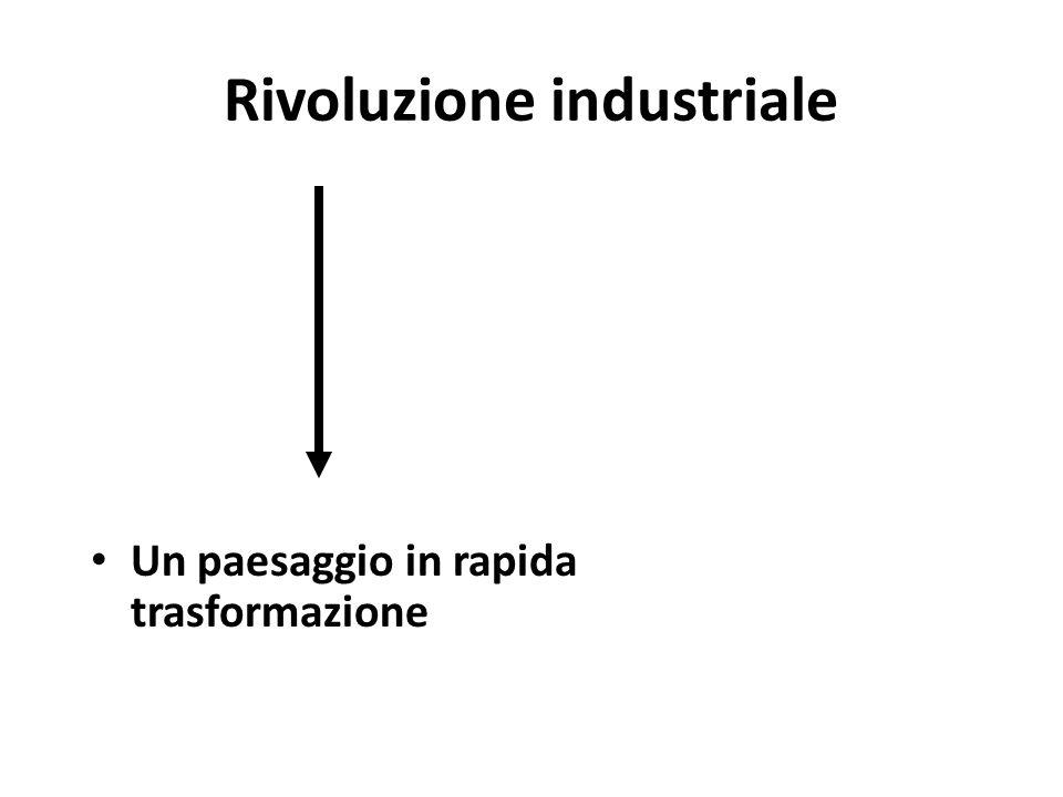 Rivoluzione industriale Un paesaggio in rapida trasformazione
