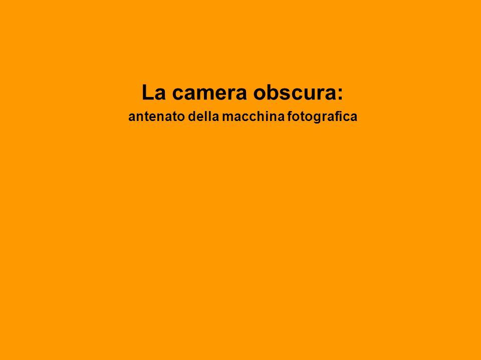 La camera obscura: antenato della macchina fotografica