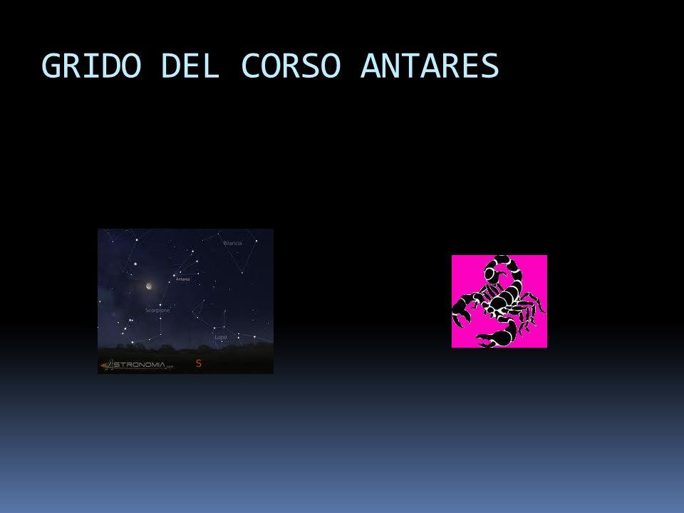 GRIDO DEL CORSO ANTARES