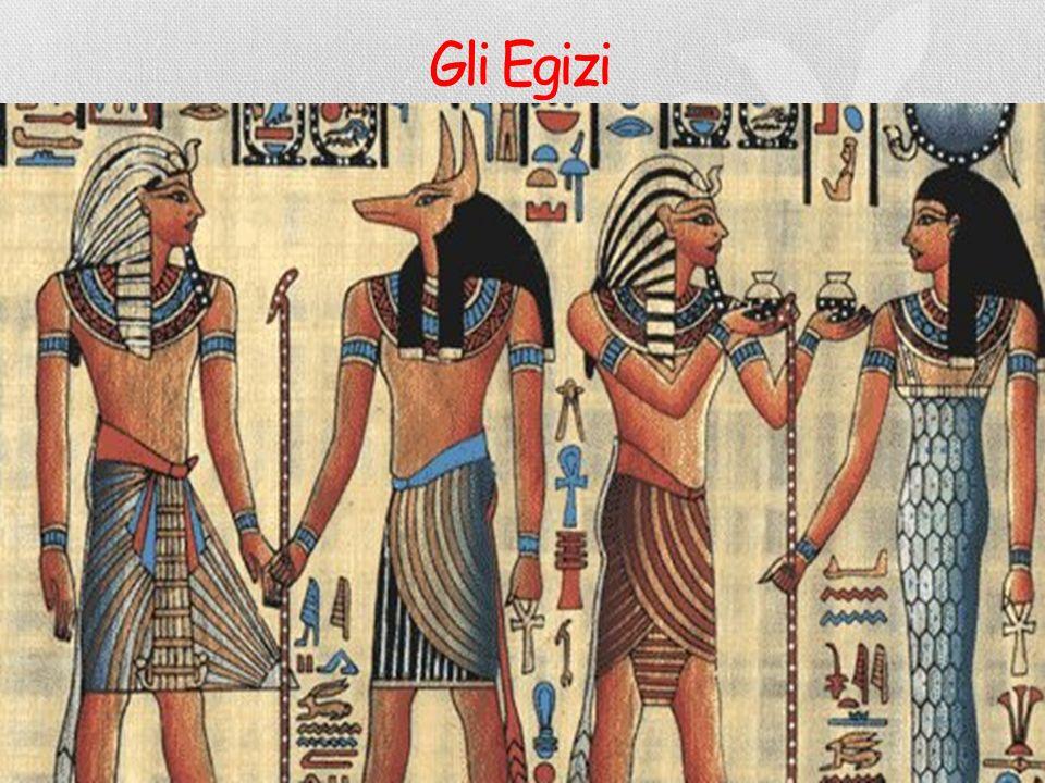 IL NILO È LA CIVILTÀ EGIZIANA Gli egizi furono pertanto in grado di coltivare grano e altre colture, ricavandone cibo per supportare le esigenze alime