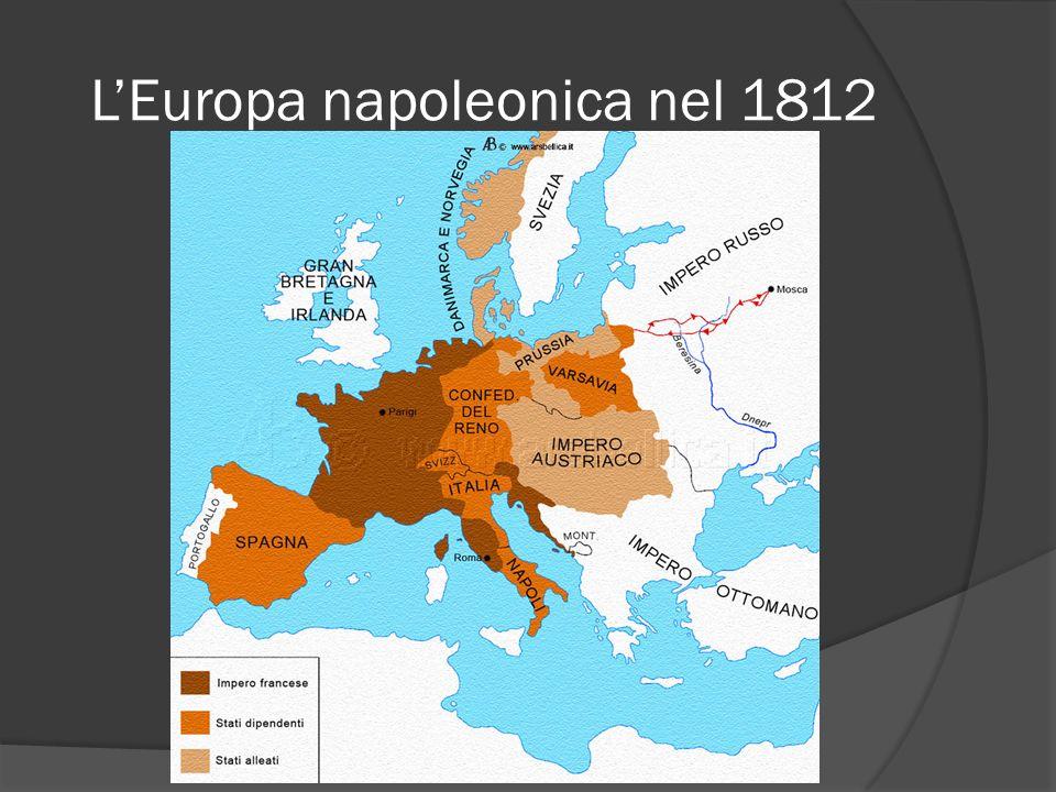LEuropa napoleonica nel 1812