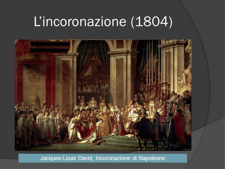 Lincoronazione (1804) Jacques-Louis David, Incoronazione di Napoleone