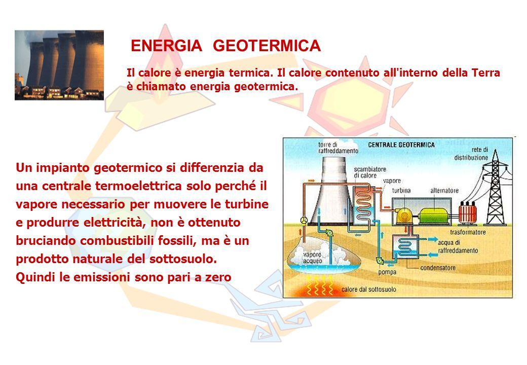 Il calore è energia termica.