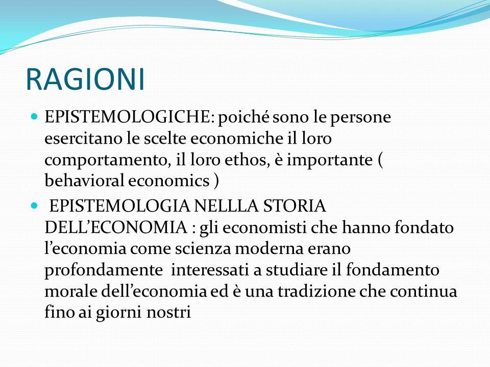 Economia delle relazioni Tuttavia è necessario chiarire che anche leconomia delle relazioni potrebbe essere oggetto di una totalizzazione metodologica che la svuoterebbe di significato.
