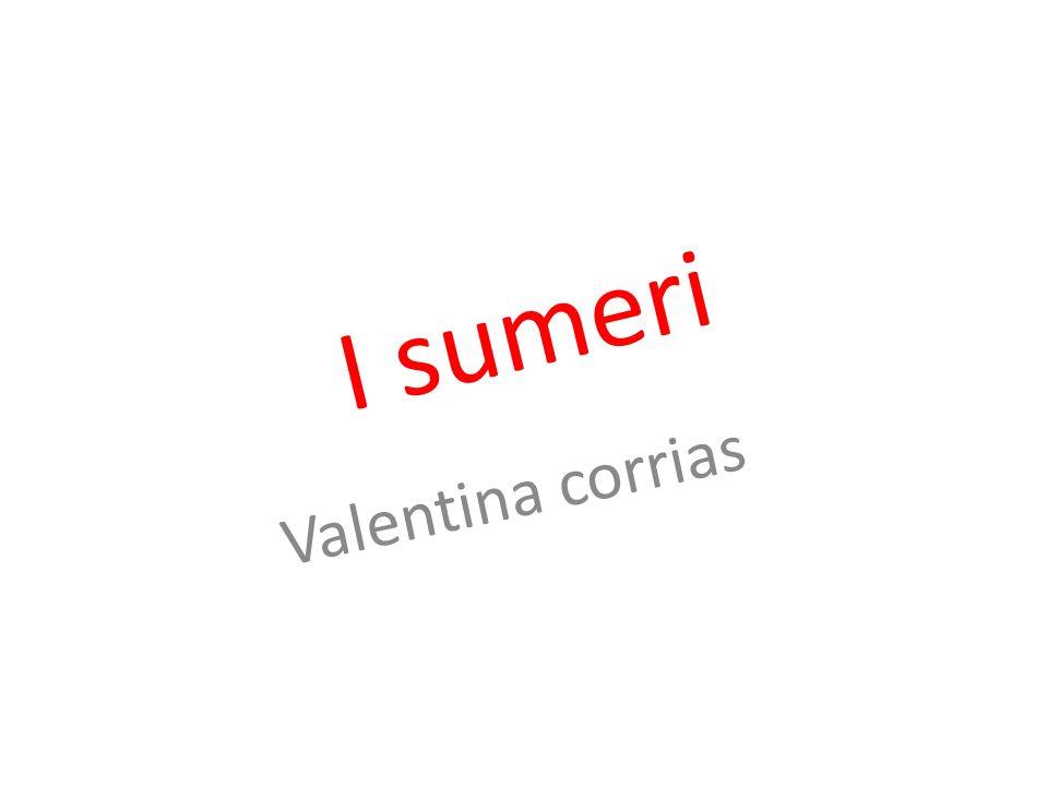 I s u m e r i Valentina corrias