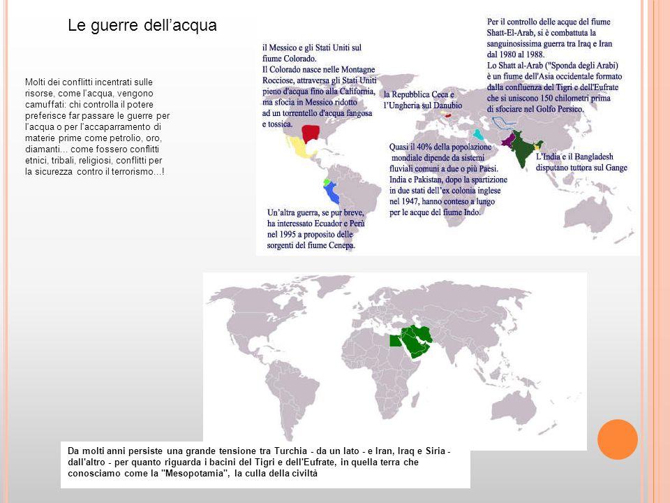In Africa le faglie sotterranee, superano di ben cento volte la quantità dacqua che si trova oggi in superficie.