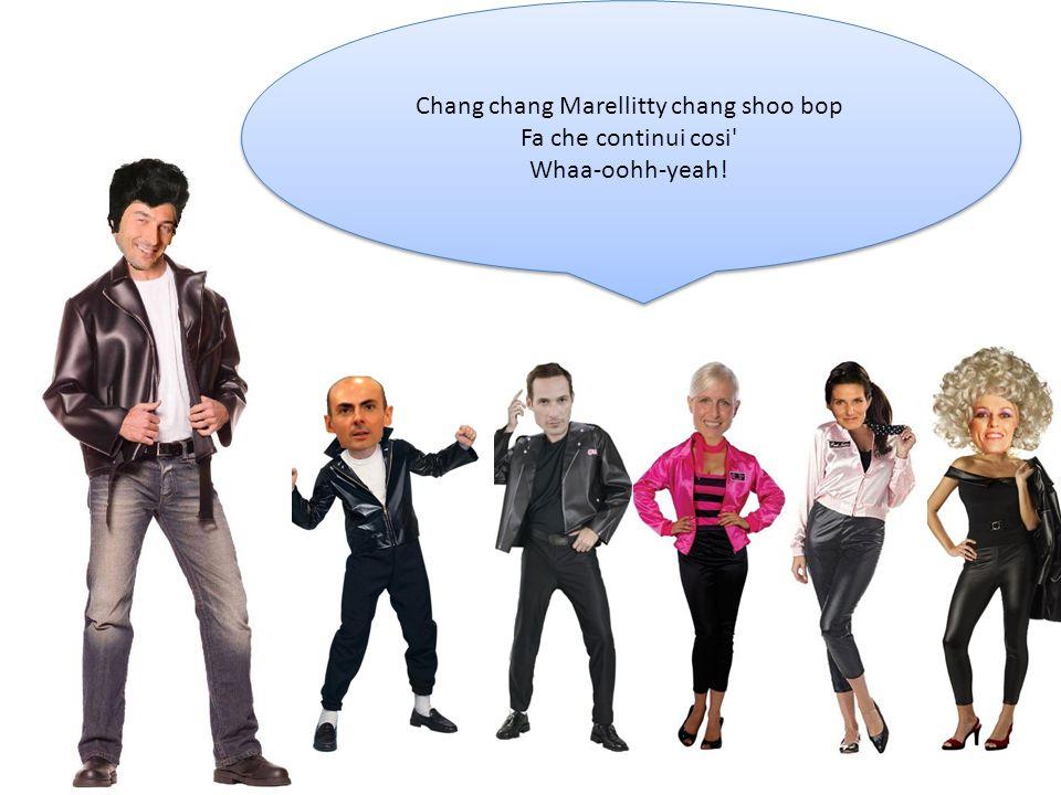 Chang chang Marellitty chang shoo bop Fa che continui cosi' Whaa-oohh-yeah! Chang chang Marellitty chang shoo bop Fa che continui cosi' Whaa-oohh-yeah