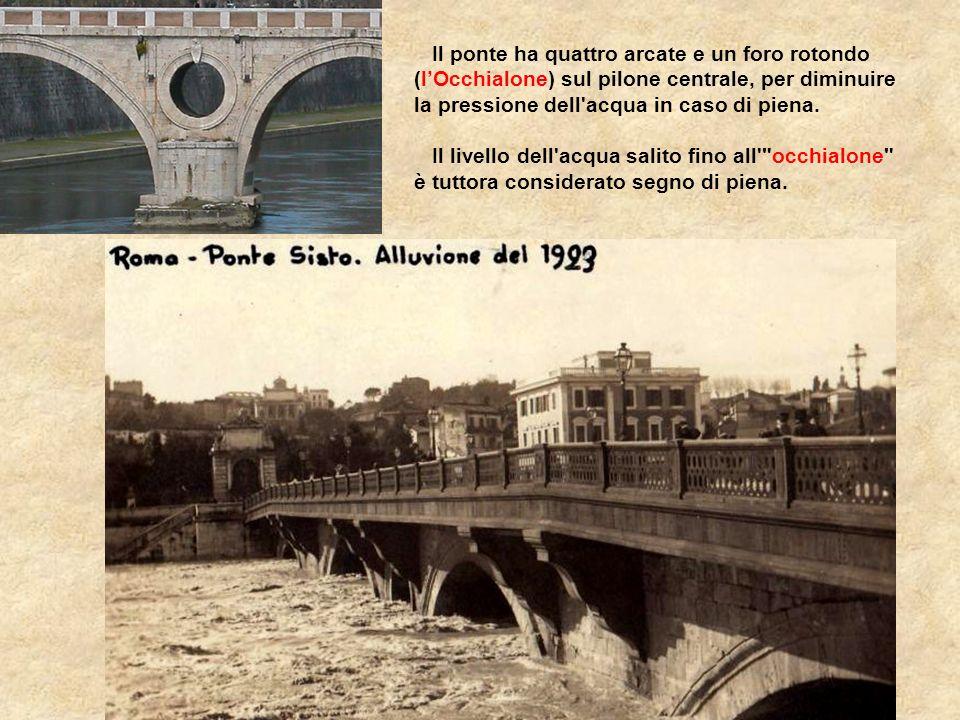 Ebbe in seguito numerosi restauri e ricostruzioni. Corrisponde all'attuale ponte Sisto. Il ponte attuale fu fatto costruire sullo stesso sito da papa