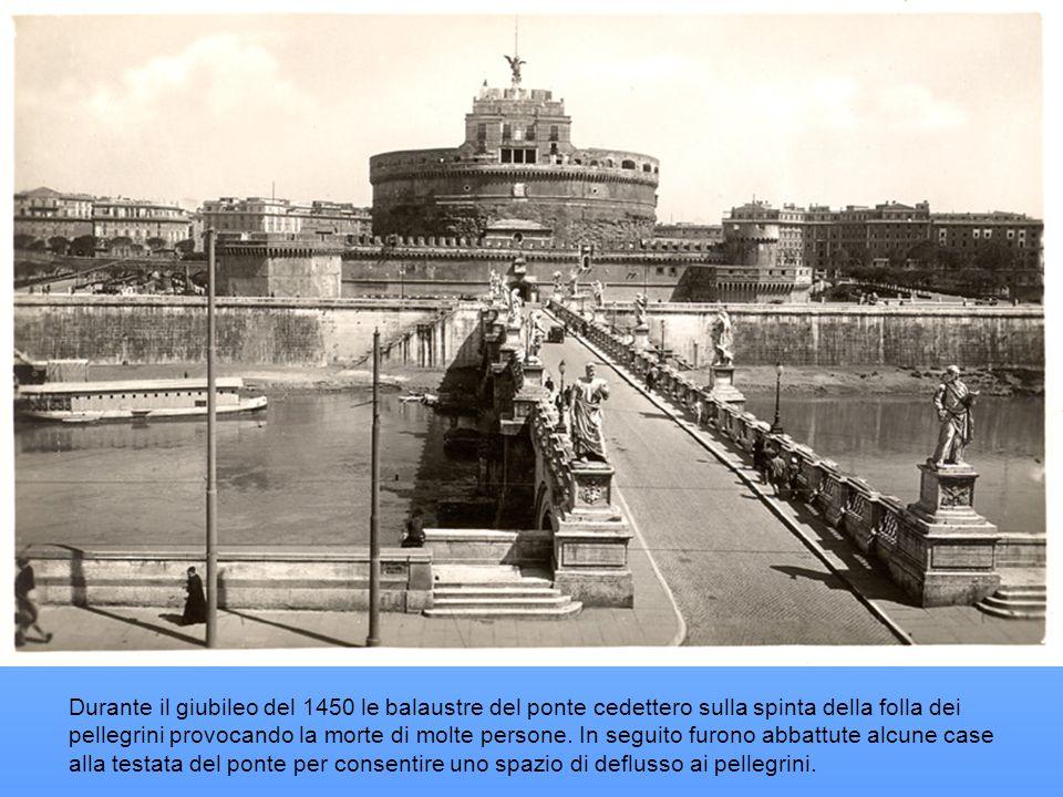 Ponte S.Angelo o Ponte Elio Ponte Sant'Angelo (nome ufficiale: ponte S. Angelo), noto anche come pons Aelius (ponte Elio), pons Hadriani (ponte di Adr