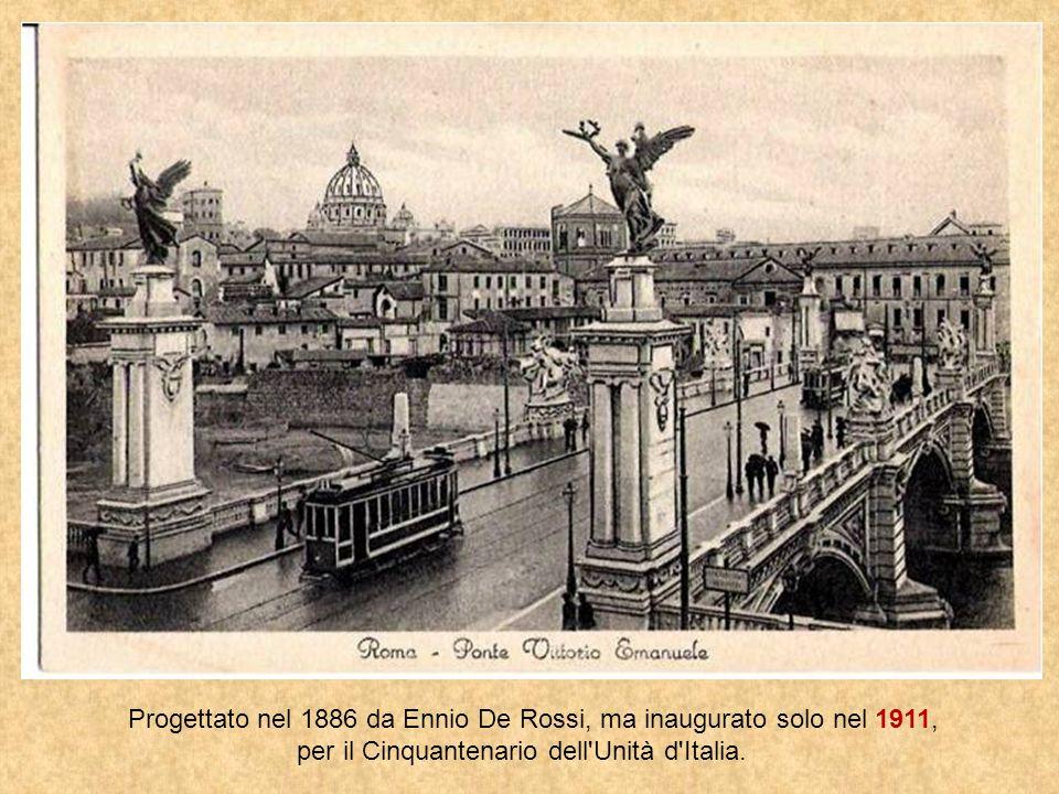 Infine un Ponte nato per celebrare i 50 anni dellUnità dItalia. Ponte Vittorio Emanuele II Ponte Vittorio Emanuele II (o, più semplicemente, ponte Vit
