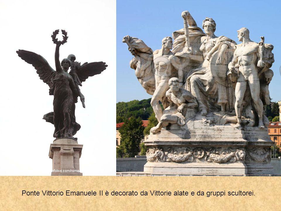 Progettato nel 1886 da Ennio De Rossi, ma inaugurato solo nel 1911, per il Cinquantenario dell'Unità d'Italia.