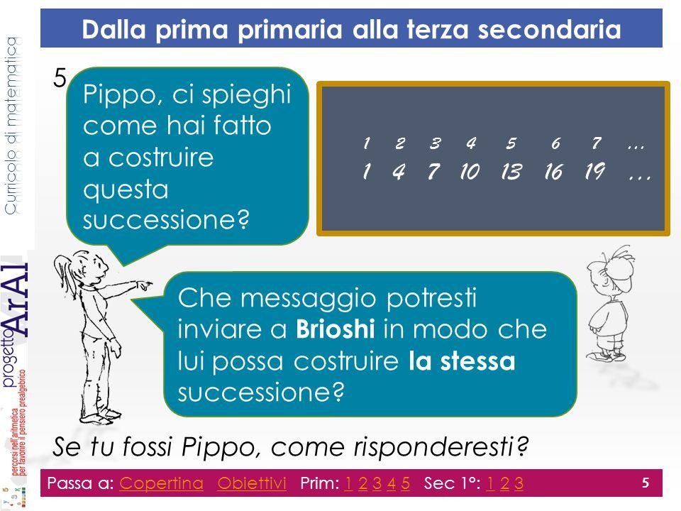 5. Se tu fossi Pippo, come risponderesti.