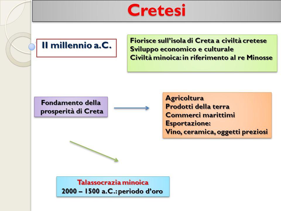 CretesiCretesi II millennio a.C.