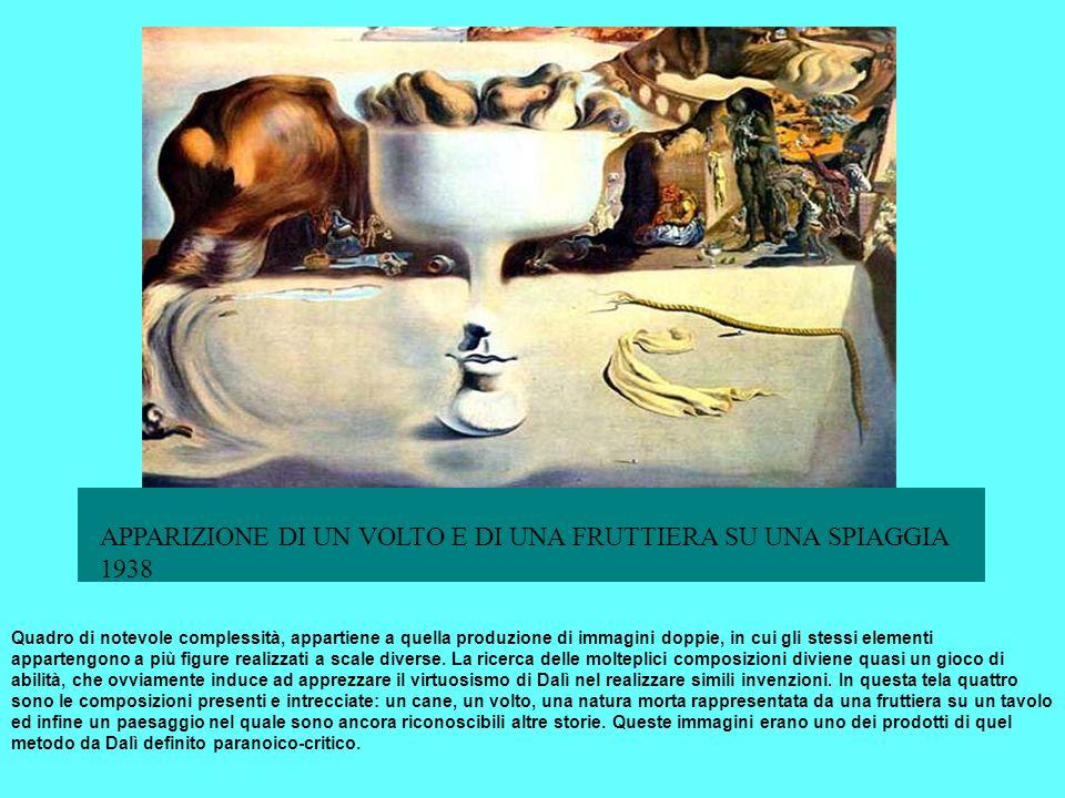 INDIETRO indice Surrealismo Magritte Quadro di notevole complessità, appartiene a quella produzione di immagini doppie, in cui gli stessi elementi app