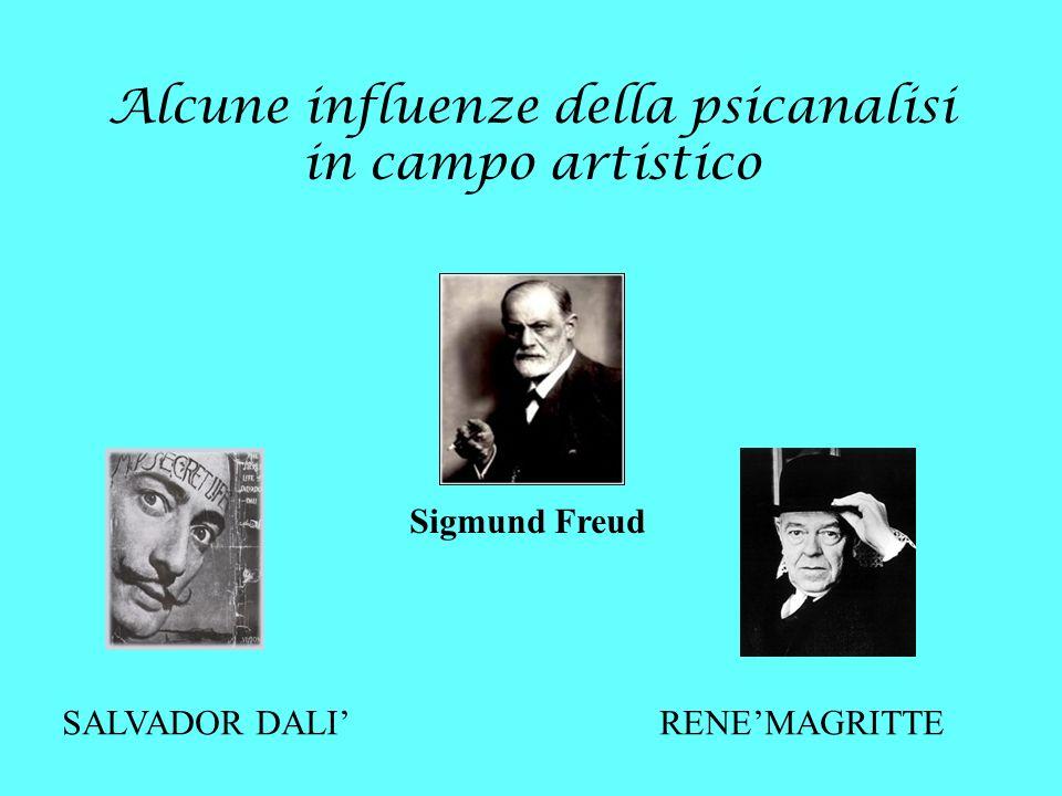 Alcune influenze della psicanalisi in campo artistico Sigmund Freud SALVADOR DALI RENEMAGRITTE