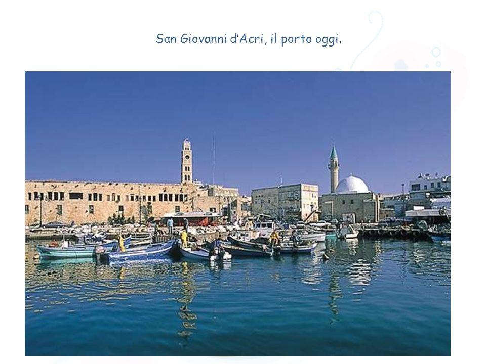 San Giovanni dAcri, il porto oggi.