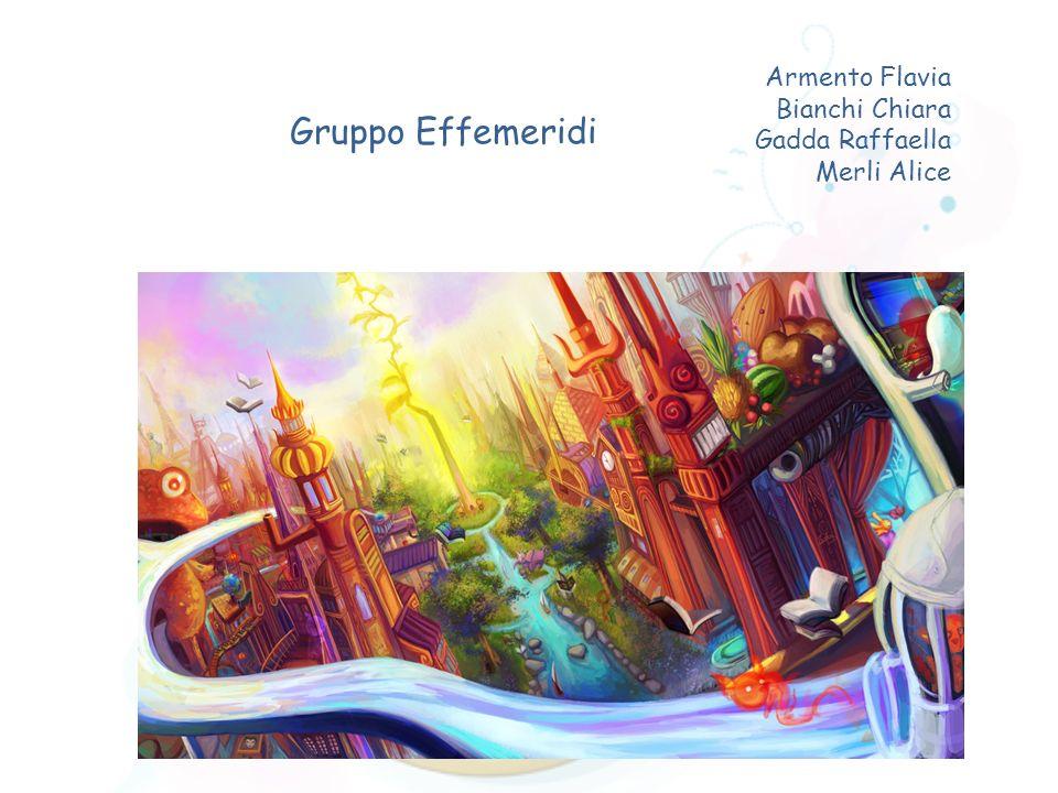 Armento Flavia Bianchi Chiara Gadda Raffaella Merli Alice Gruppo Effemeridi