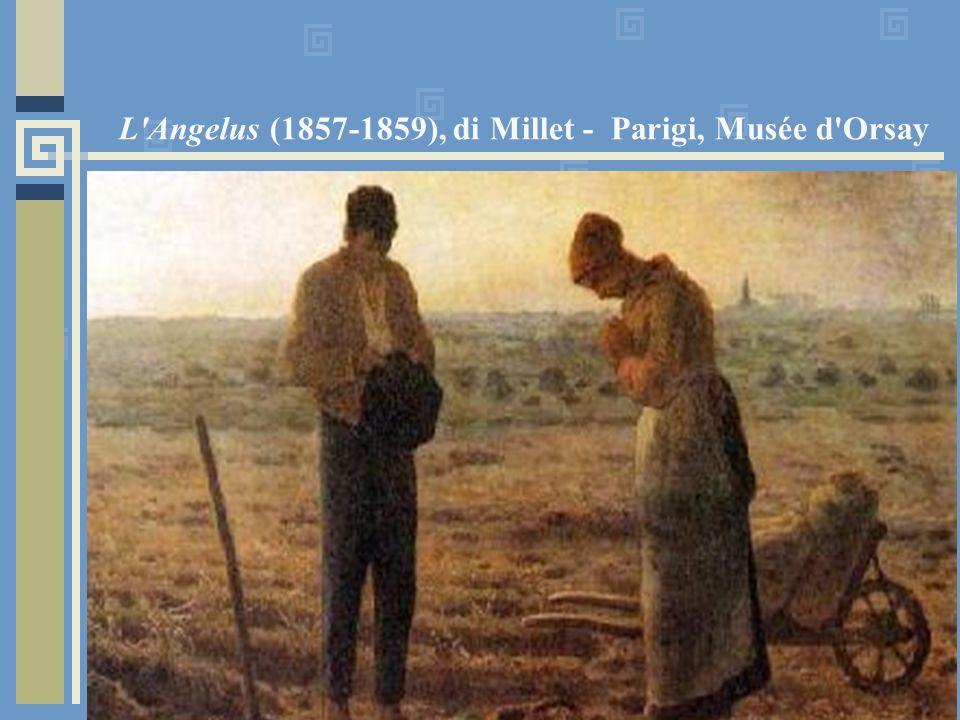 L'Angelus (1857-1859), di Millet - Parigi, Musée d'Orsay