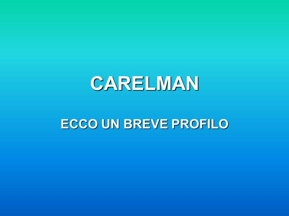 CARELMAN ECCO UN BREVE PROFILO