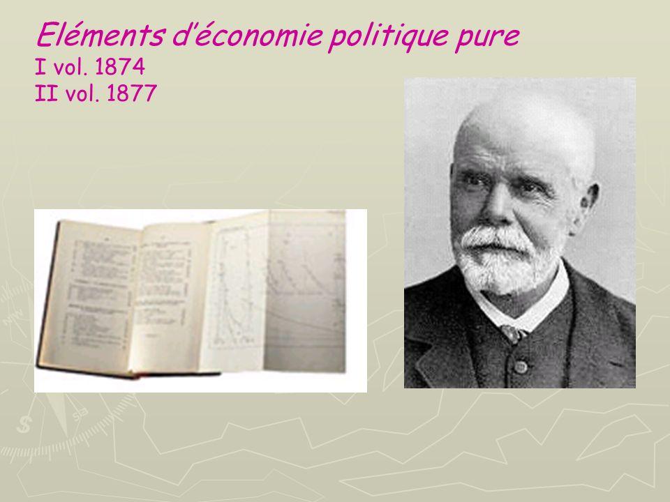 Leconomia, per Walras, può essere divisa in tre diverse branche, distinte per metodo e obiettivi. 1. economia pura = teoria della determinazione dei p