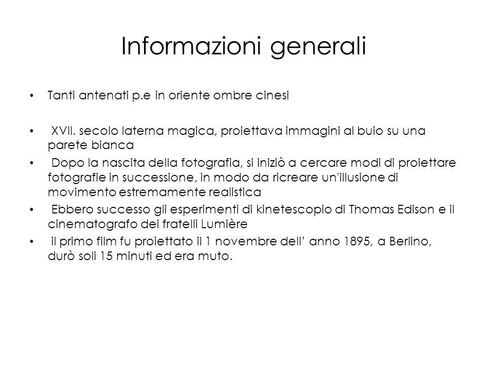Informazioni generali Tanti antenati p.e in oriente ombre cinesi XVII.