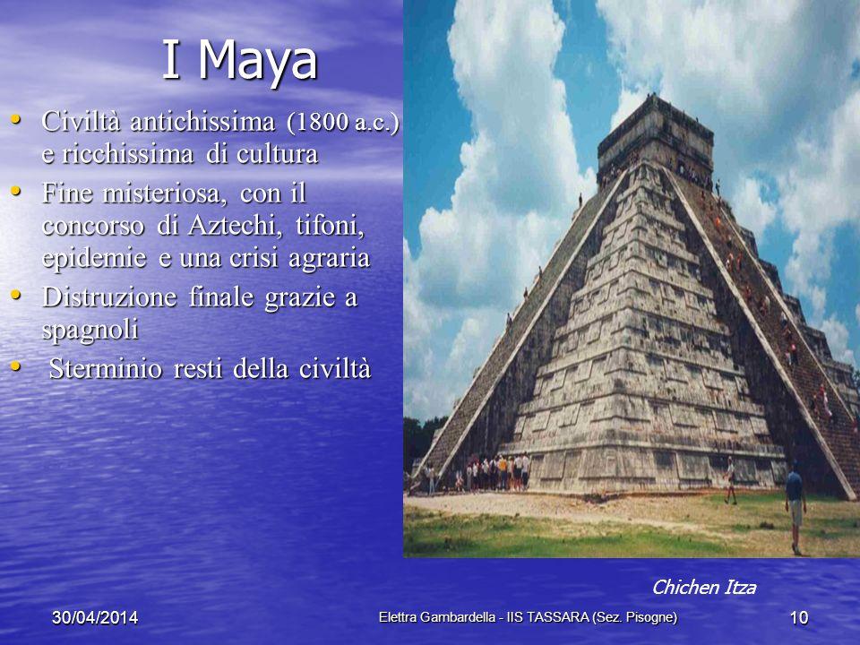 Gli Aztechi Aztechi: civiltà sviluppata intorno al 1200, capitale Tenochtitlàn, guidati da Montezuma II Aztechi: civiltà sviluppata intorno al 1200, c