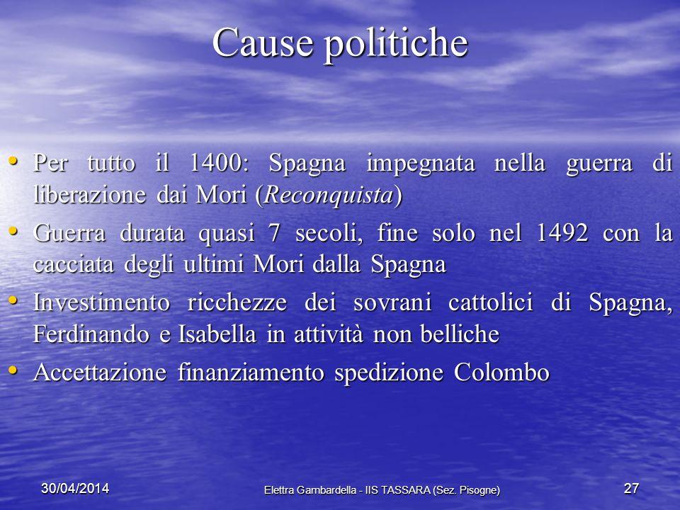 Sconvolgimenti sociali 30/04/2014 Elettra Gambardella - IIS TASSARA (Sez. Pisogne) 26 INFLAZIONE danneggiafavorisce reddito fisso nobiltà terriera la