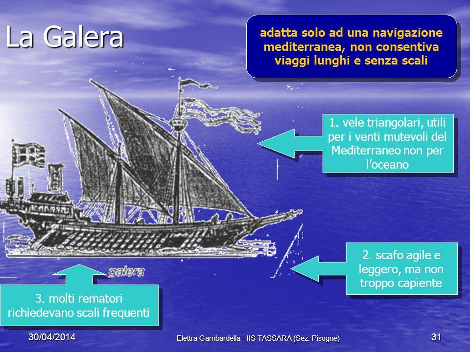 Cause tecnologiche Navigazione oceanica possibile solo con presenza tecnologie adatte Navigazione oceanica possibile solo con presenza tecnologie adat