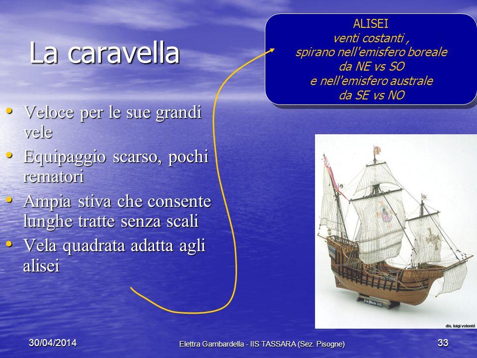 30/04/2014 Elettra Gambardella - IIS TASSARA (Sez. Pisogne) 32