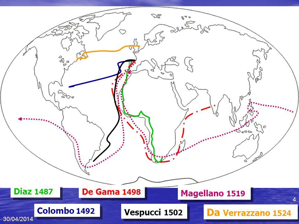 I primi esploratori 1450: i primi viaggi oceanici 1450: i primi viaggi oceanici Navigazione sottocosta per scarsa autonomia Navigazione sottocosta per