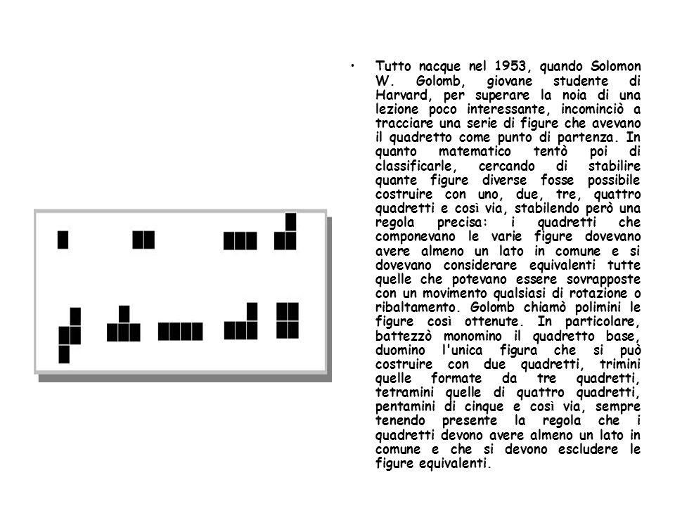 Egli presentò all Harvard Mathematics Club il suo gioco, che divenne ben presto molto popolare fra gli studenti.