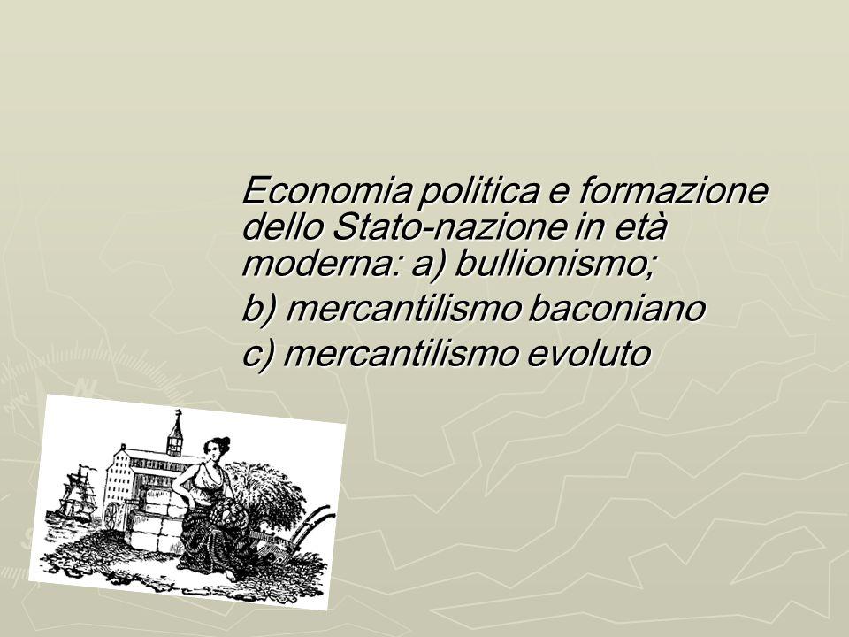 Scienza economica e pensiero moderno LEconomia si definisce Politica, quindi relativa alla sfera pubblica-collettiva-nazionale LEconomia si definisce
