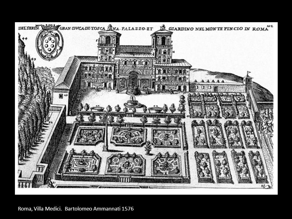 Roma, Villa Medici. Bartolomeo Ammannati 1576