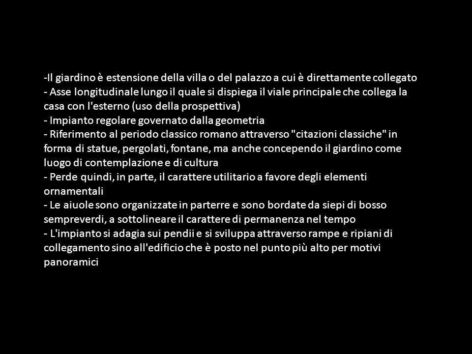 Firenze, zona Quaracchi.Giardino di Villa Lo Specchio.