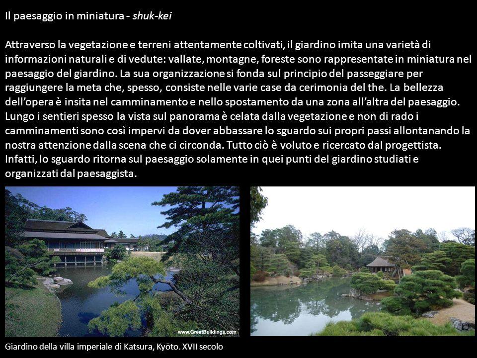 Il paesaggio in miniatura - shuk-kei Attraverso la vegetazione e terreni attentamente coltivati, il giardino imita una varietà di informazioni natural