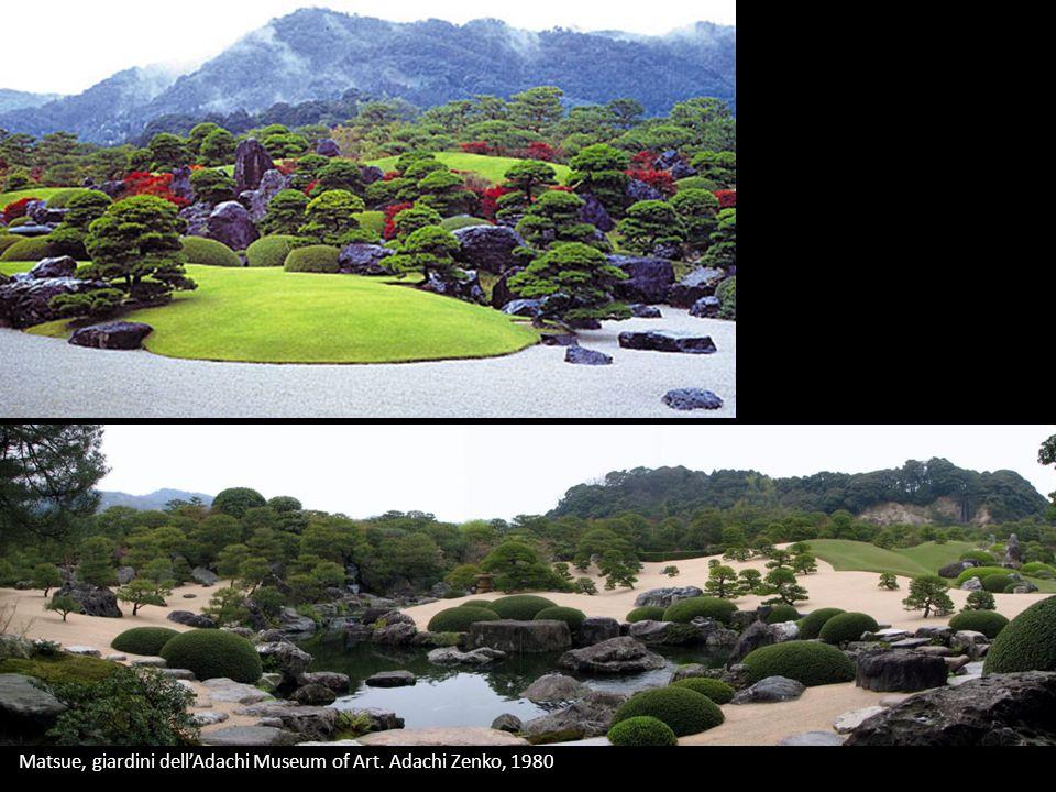 Matsue, giardini dellAdachi Museum of Art. Adachi Zenko, 1980