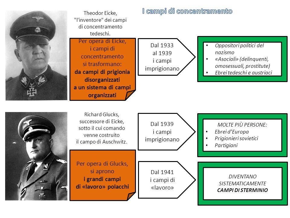 Theodor Eicke, l inventore dei campi di concentramento tedeschi.