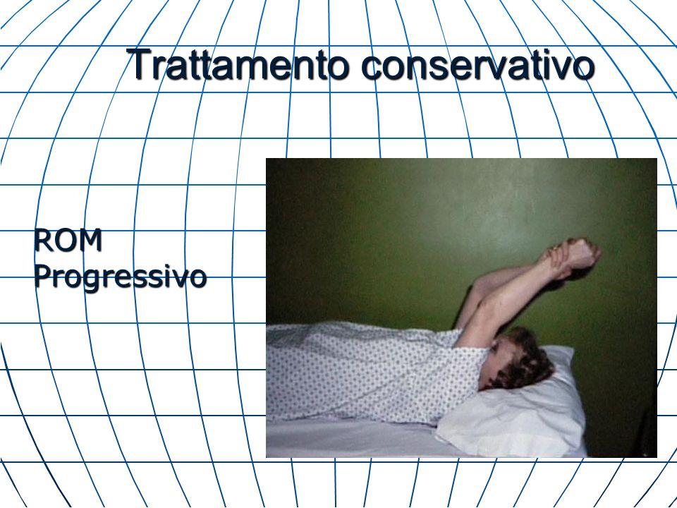 Trattamento conservativo ROM Progressivo