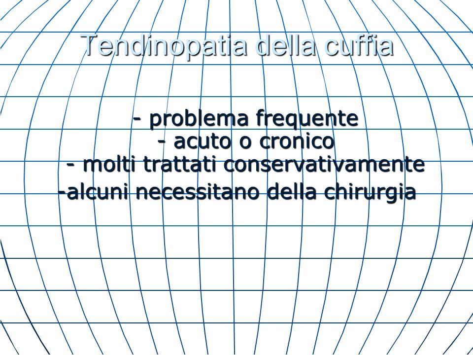 Indicazioni Generali Trattamento conservativo Età avanzata Età avanzata Buona risposta a F.K.T.