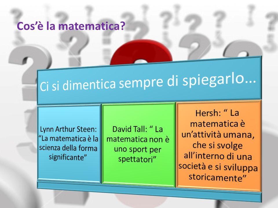 Capitolo 15 Pura o Applicata Si è sempre operata una distinzione inutile tra matematica pura e matematica applicata, che in realtà rappresentano due diversi approcci alla disciplina.