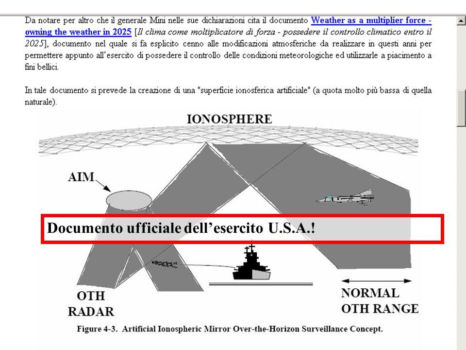 Documento ufficiale dellesercito U.S.A.!