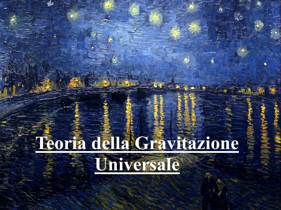 Teoria della Gravitazione Universale