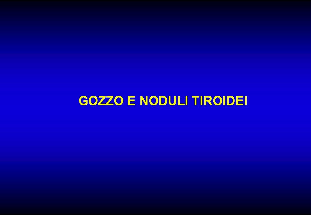 GOZZO E NODULI TIROIDEI